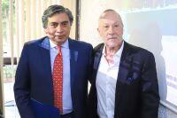 Los economistas Gerardo Esquivel y Jonathan Heath.
