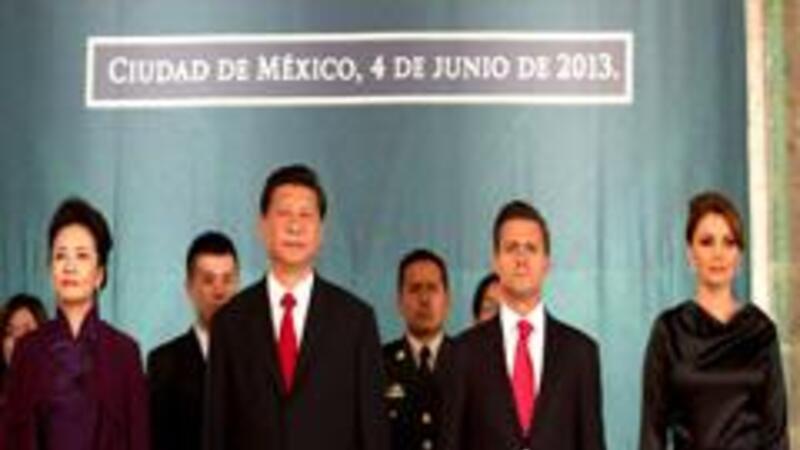 Acercamiento comercial México-China (Foto: Presidencia de México/Notimex)