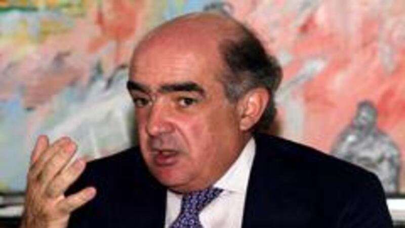 Luis Téllez Kuenzler, presidente de la BMV (Foto: Notimex)