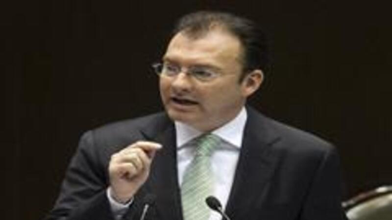 El secretario de Hacienda y Crédito Público, Luis Videgaray Caso (Foto: Notimex)