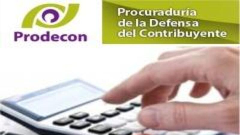 Prodecon: Derechos del contribuyente son Derechos Humanos