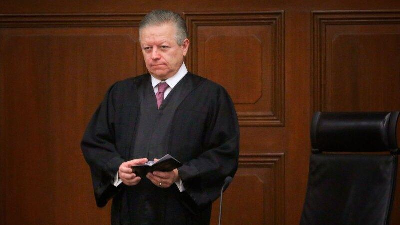 El ministro es el presidente de la Suprema Corte de Justicia de la Nación.