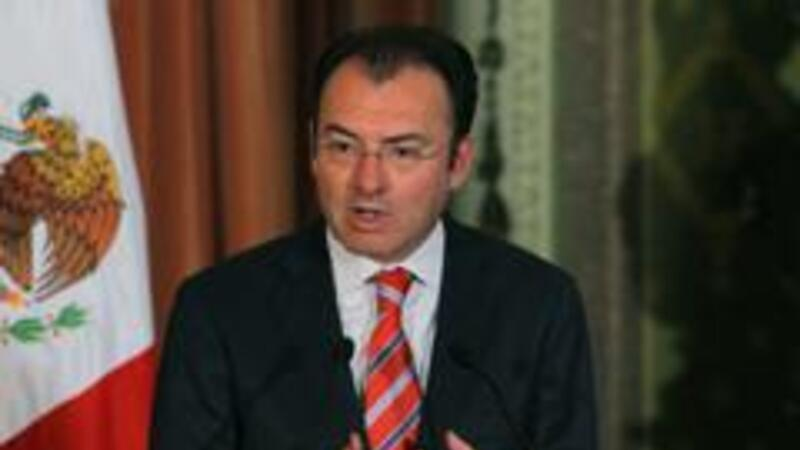 El secretario de Hacienda y Crédito Público, Luis Videgaray (Foto: Notimex)
