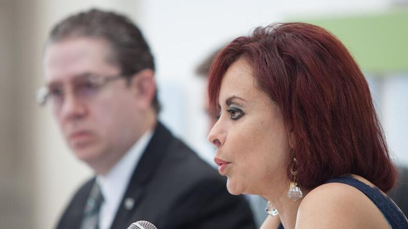 La titular de la Prodecon Diana Bernal (Foto: Cuarto Oscuro)