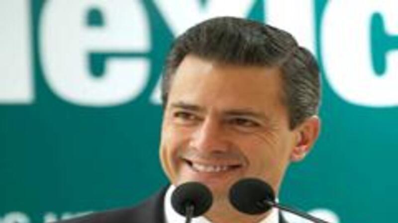 Enrique Peña Nieto presenta a senadores del PRI propuesta sobre transparencia (Foto: Cortesía enriquepenanieto.com)