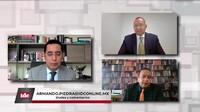 con Sergio Antonio Sánchez y Dr. Jaime Flores