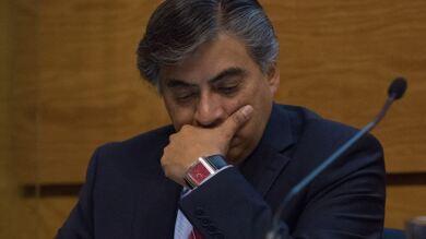 En la imagen el subgobernador Gerardo Esquivel Hernández.