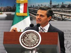 El presidente, Enrique Peña Nieto (Foto: Notimex)