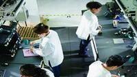 Actividad de la industria manufacturera (Foto: Gilberto Contreras / Revista Manufactura)