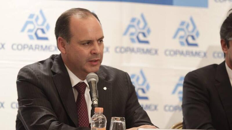 Gustavo de Hoyos Walther, presidente de la Coparmex (Foto: Facebook Coparmex)