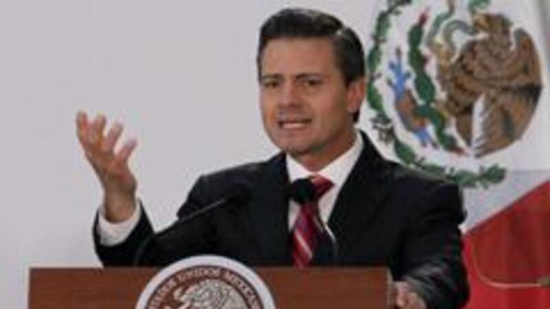 El presidente, Enrique Peña Nieto, promulga Ley Telecom (Foto Notimex)