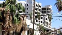 Casas afectadas tras el paso del Huracán Odile (Foto: Notimex)