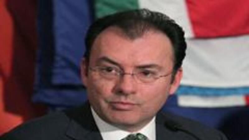 luis Videgaray, titular de la Secretaría de Hacienda (Foto: Notimex)