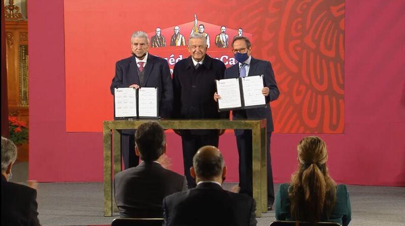 Firma del acuerdo tripartita en materia de outsourcing