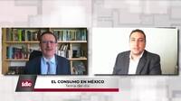 con Enrique Espinoza de los Monteros Director general de Nielsen