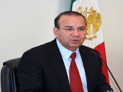Alfonso Navarrete Prida, secretario del Trabajo (Foto: Cortesía Comunicación Social STyPS)