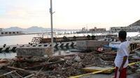 Los Cabos.- Tras el paso del huracán Odile (Foto: Notimex)
