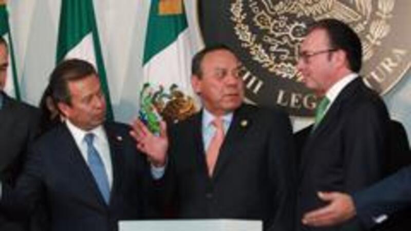 El secretario de Hacienda, Luis Videgaray, durante la entrega del paquete económico 2016 (Foto: Notimex)