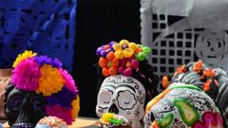 Conmemoración del Día de Muertos (Foto: Notimex)