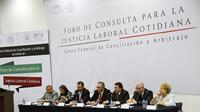 Foro de Consulta para la Justicia Laboral Cotidiana (Foto: Comunicación social de la STPS)