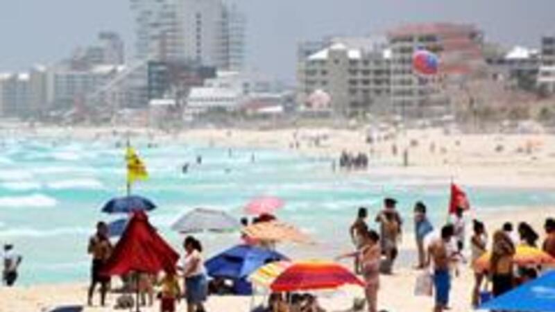 Turismo en playas (Foto: Notimex)
