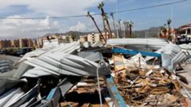Innumerables daños tras el paso del huracán Odile (Foto: Notimex)