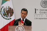 Gobierno de Enrique Peña Nieto cumple un año (Foto: archivo Notimex)