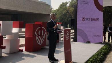 David Penchyna, director del Infonavit en la presentación de SocioInfonavit.