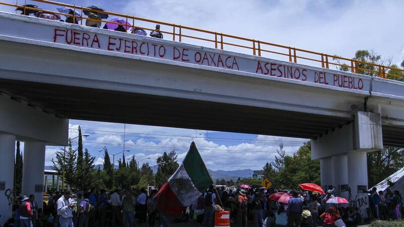 CNTE en Nochixtla (Foto: Cuarto Oscuro)